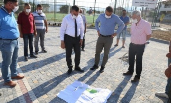 15 Temmuz Şehitler ve Gaziler Parkı'nda çalışmalar sürüyor