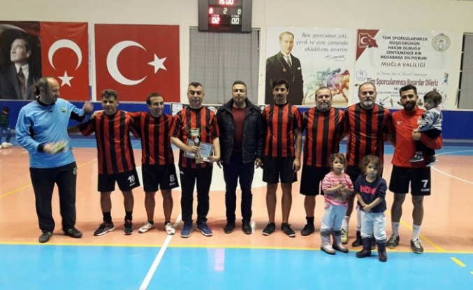 Futsalın şampiyonu Yatağan Anadolu Lisesi oldu