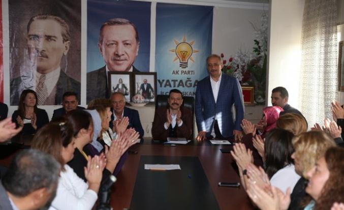 AK Parti MKYK Üyesi Kaya, Yatağan'da