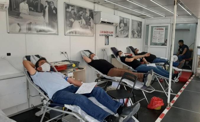 Maden-İş'ten kan bağışı kampanyasına destek