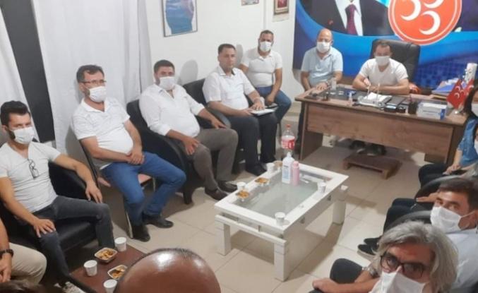MHP Yatağan'da görev dağılımı yapıldı