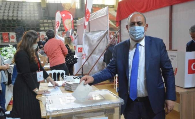 MHP'de Mehmet Korkmaz güven tazeledi