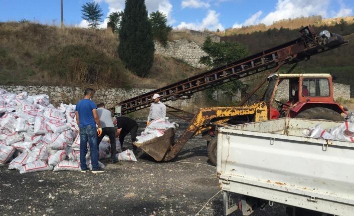Yatağan'daki 750 aileye, kömür yardımı