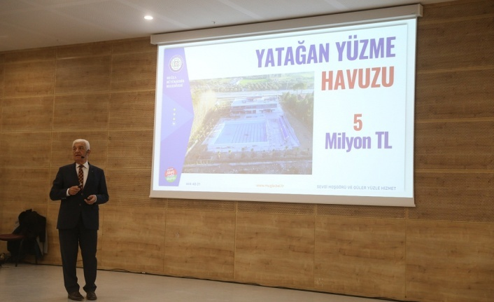 """Osman Gürün'den """"Halka Hesap Verme"""" toplantısı"""
