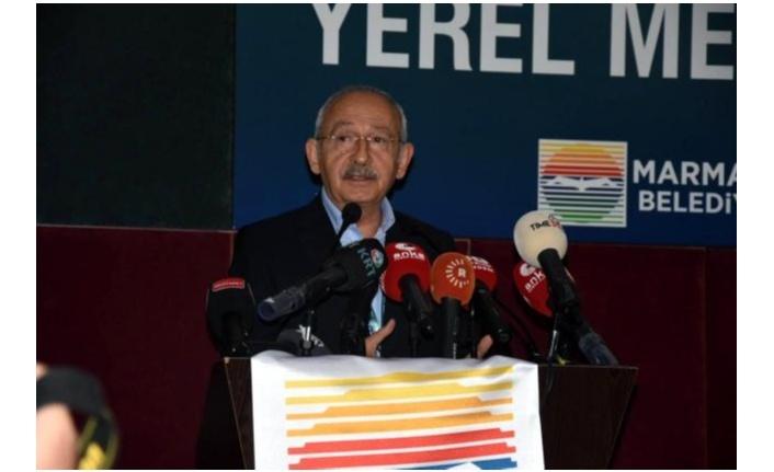 CHP Genel Başkanı Kılıçdaroğlu, Marmaris'te gazetecilerle buluştu